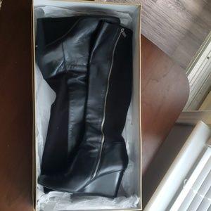 Michael Kors High Wedge Boots